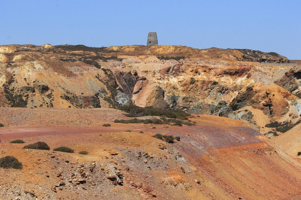 Anglesey Parys Mountain