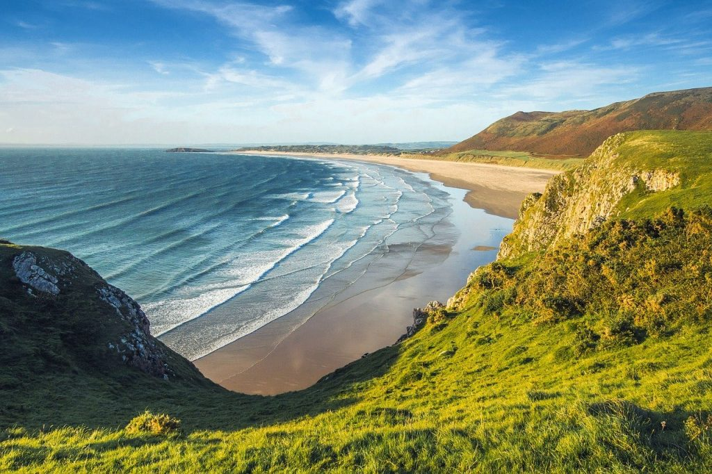 Welsh beach, Pembrokeshire, South Wales